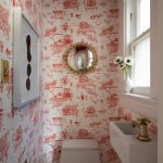 Low On Space But High On Style 20 Super Tiny Powder Rooms With Incredible Design Dlghtd
