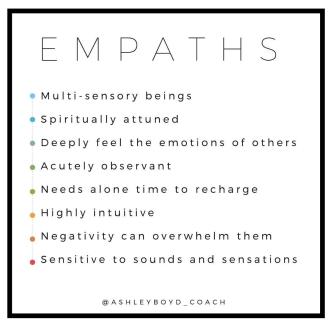 Being An Empath... — Ashley Boyd