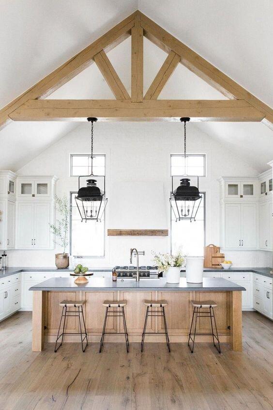 best lighting for vaulted ceilings