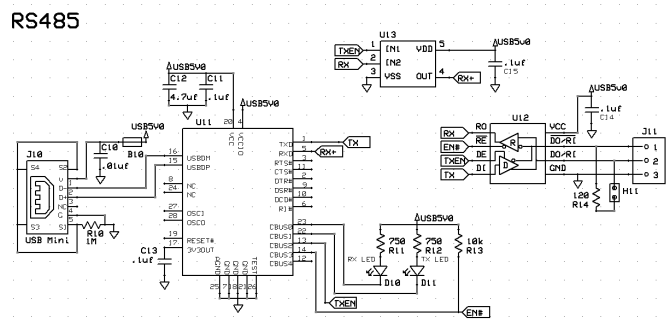 usb to rs485 converter wiring diagram  new home wiring