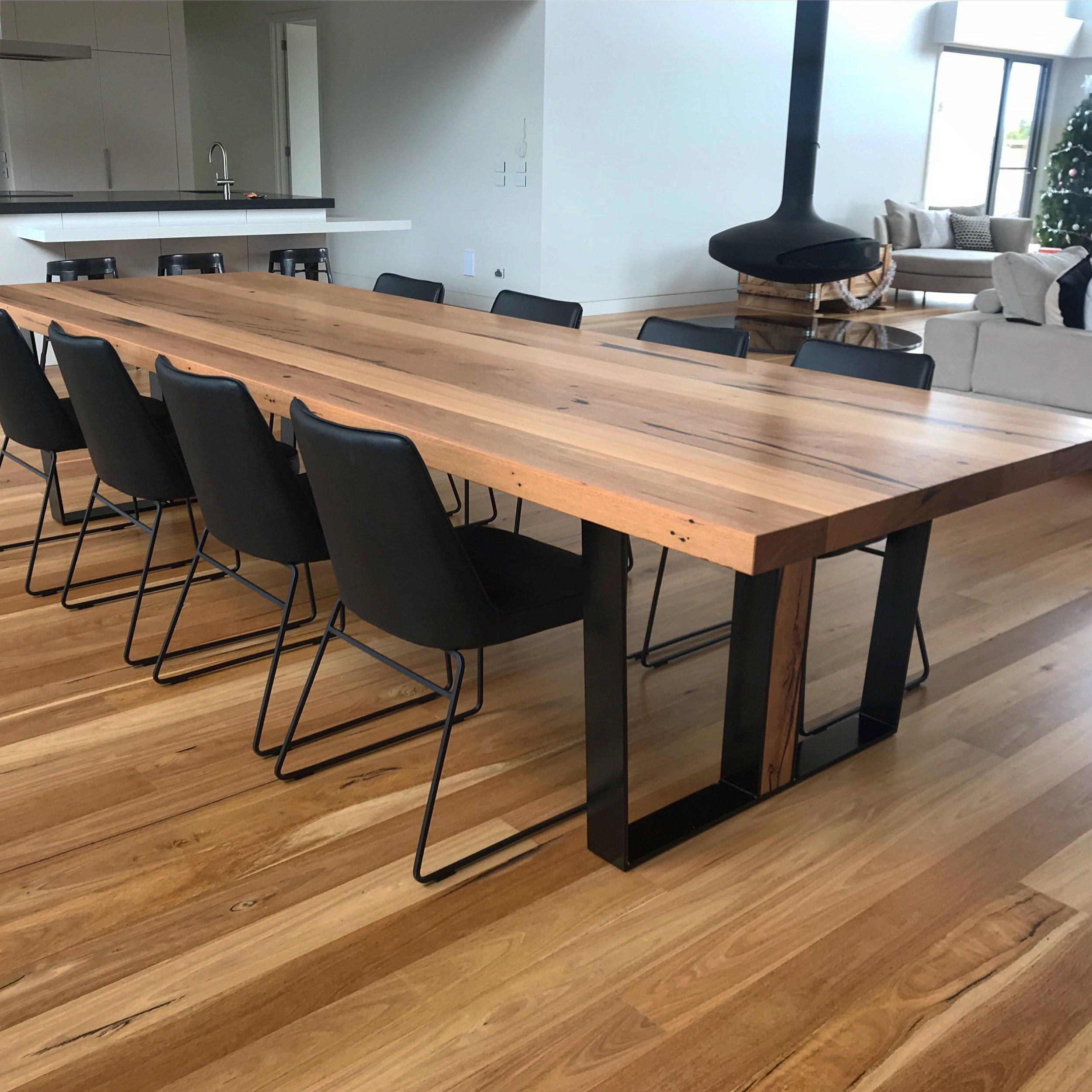dining tables bespoke timber design