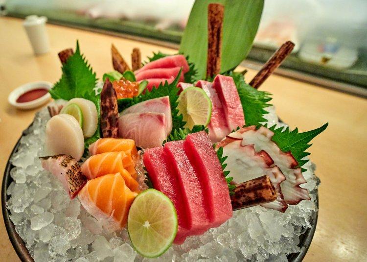 нарезка сушими