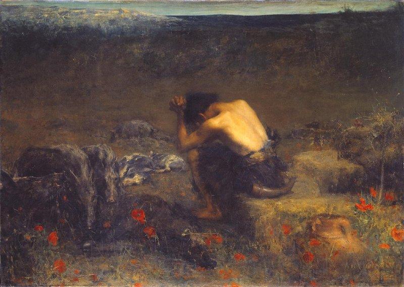The Prodigal Son by John Macallan Swann, English 19th century