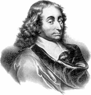 Blaise Pascal, a contemporary portrait