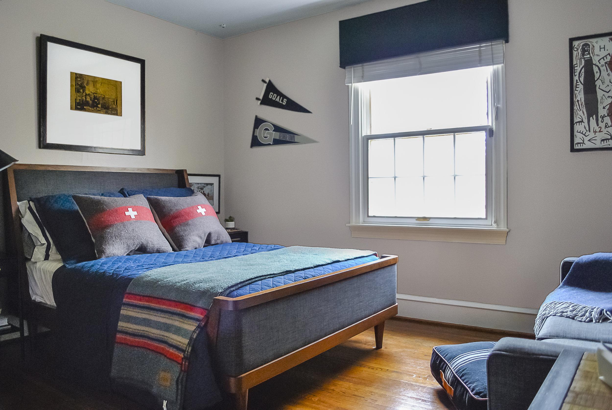 classic vintage teenage boys bedroom