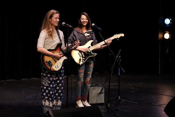 A Night for Women's Rights, a fundraiser for Planned Parenthood, Northwest School, Seattle, 10 June 2018.