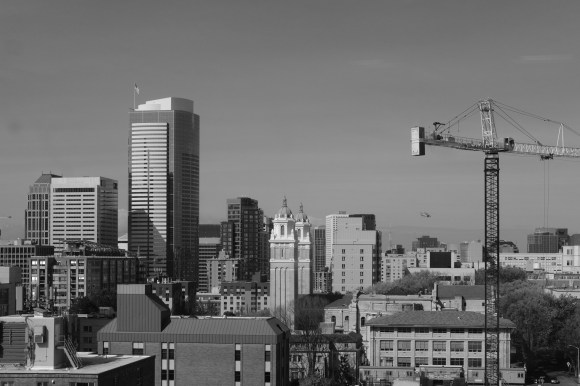 Seattle. Find the helicopter, not my dirty sensor or lens.