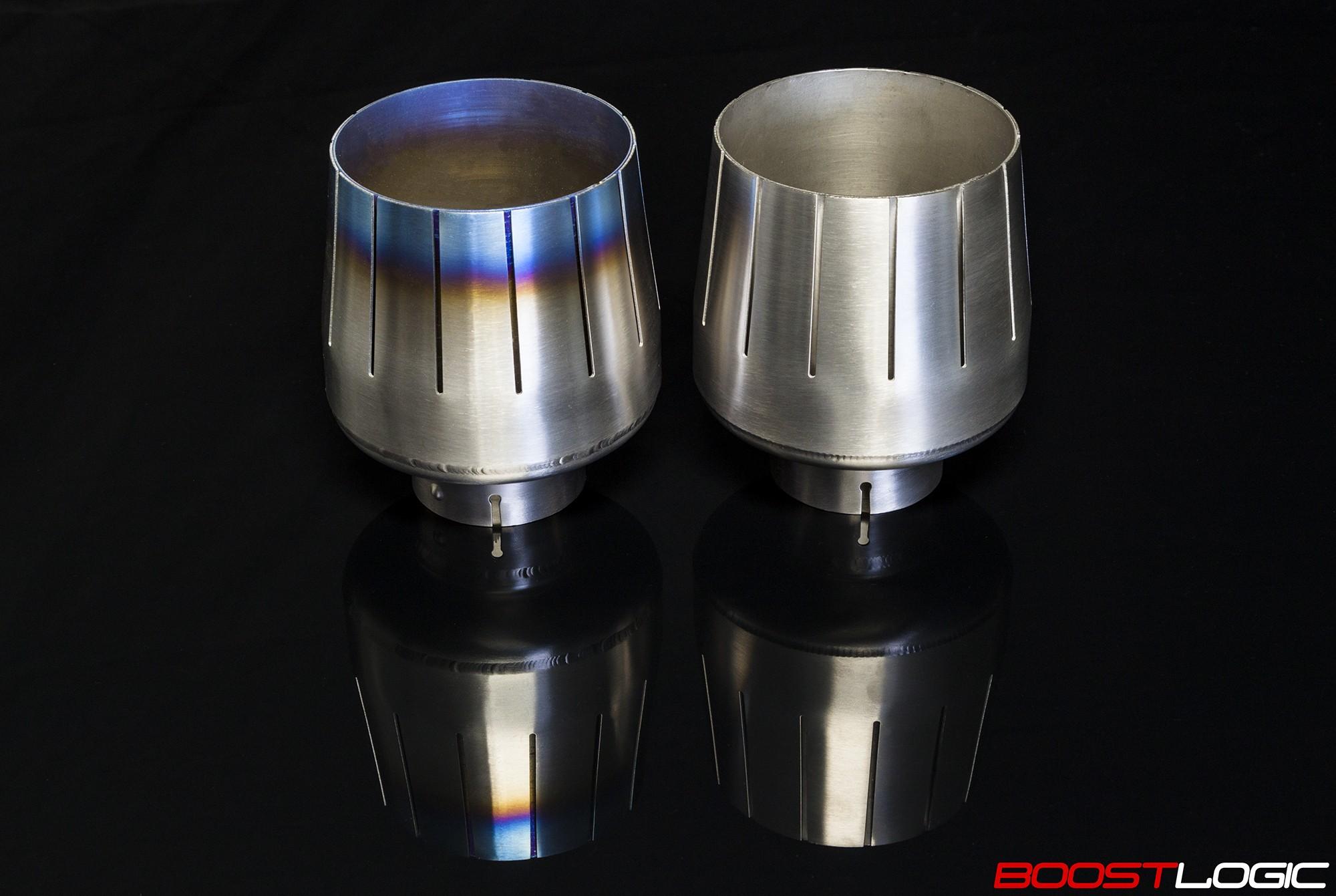 titanium exhaust f16 tip set nissan r35 gtr 09 a9 performance