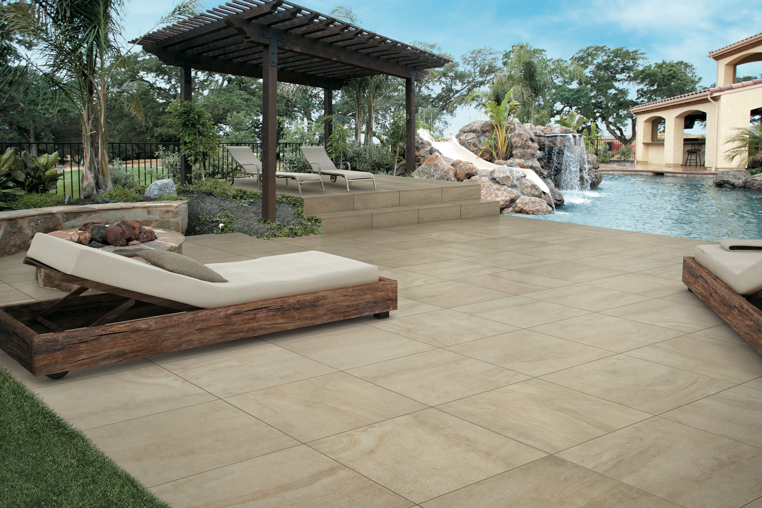 why porcelain pavers are perfect for