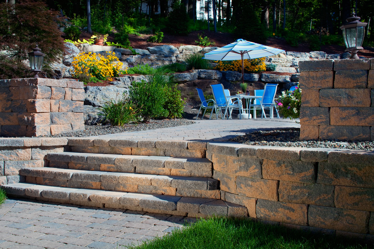 how to choose concrete patio pavers for your hardscaping projects bayside pavers
