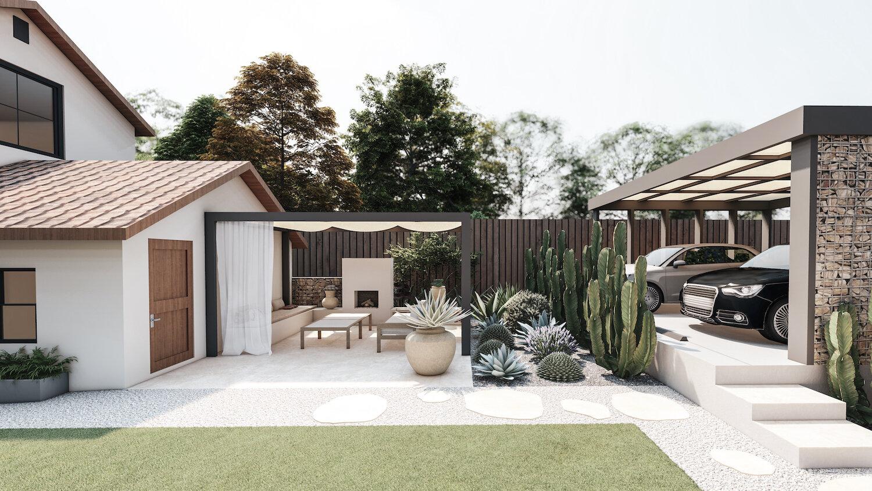 backyard design in dallas yardzen