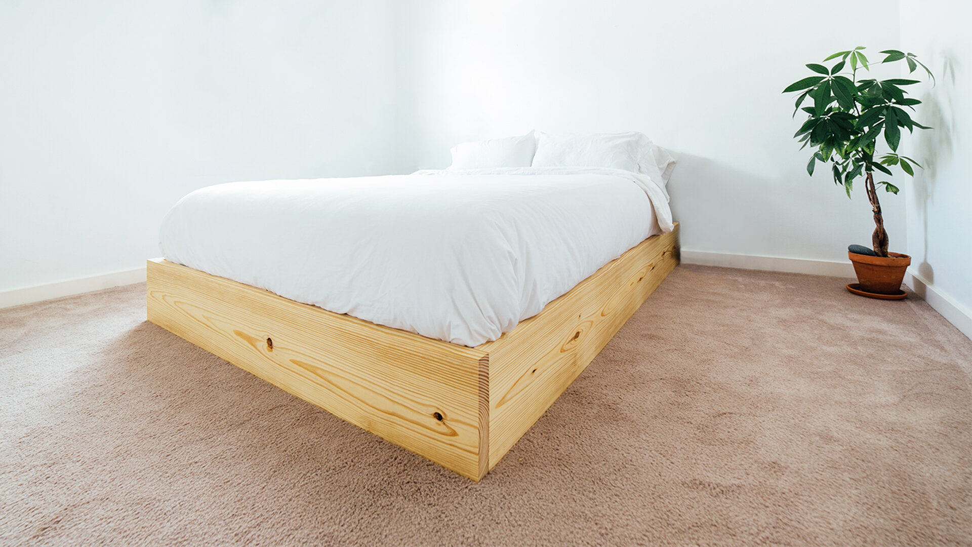 How To Build An Easy Bed Platform Maker Gray