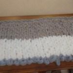 Finger Knitting Blanket Easy