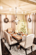 Likehome A Farmhouse Christmas Decorating Inspiration For A Festive Holiday Dining Room