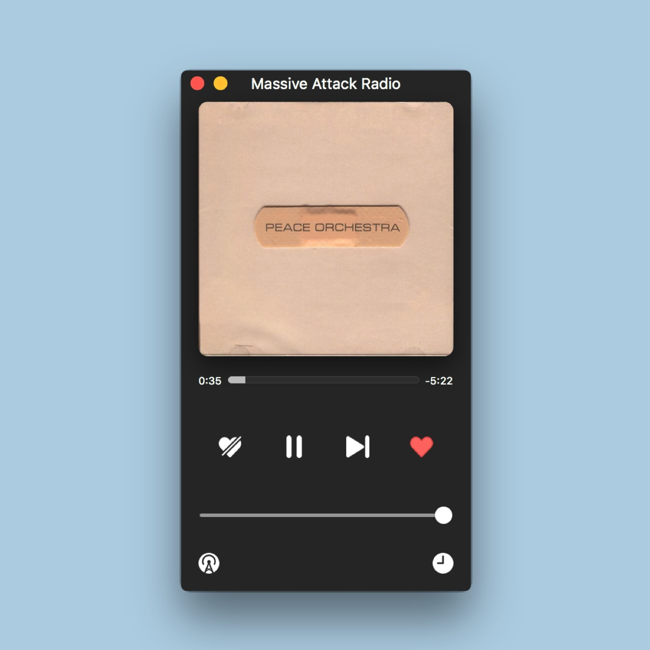 Anesidora Mac 破解版 Pandora Radio潘多拉音乐播放器客户端