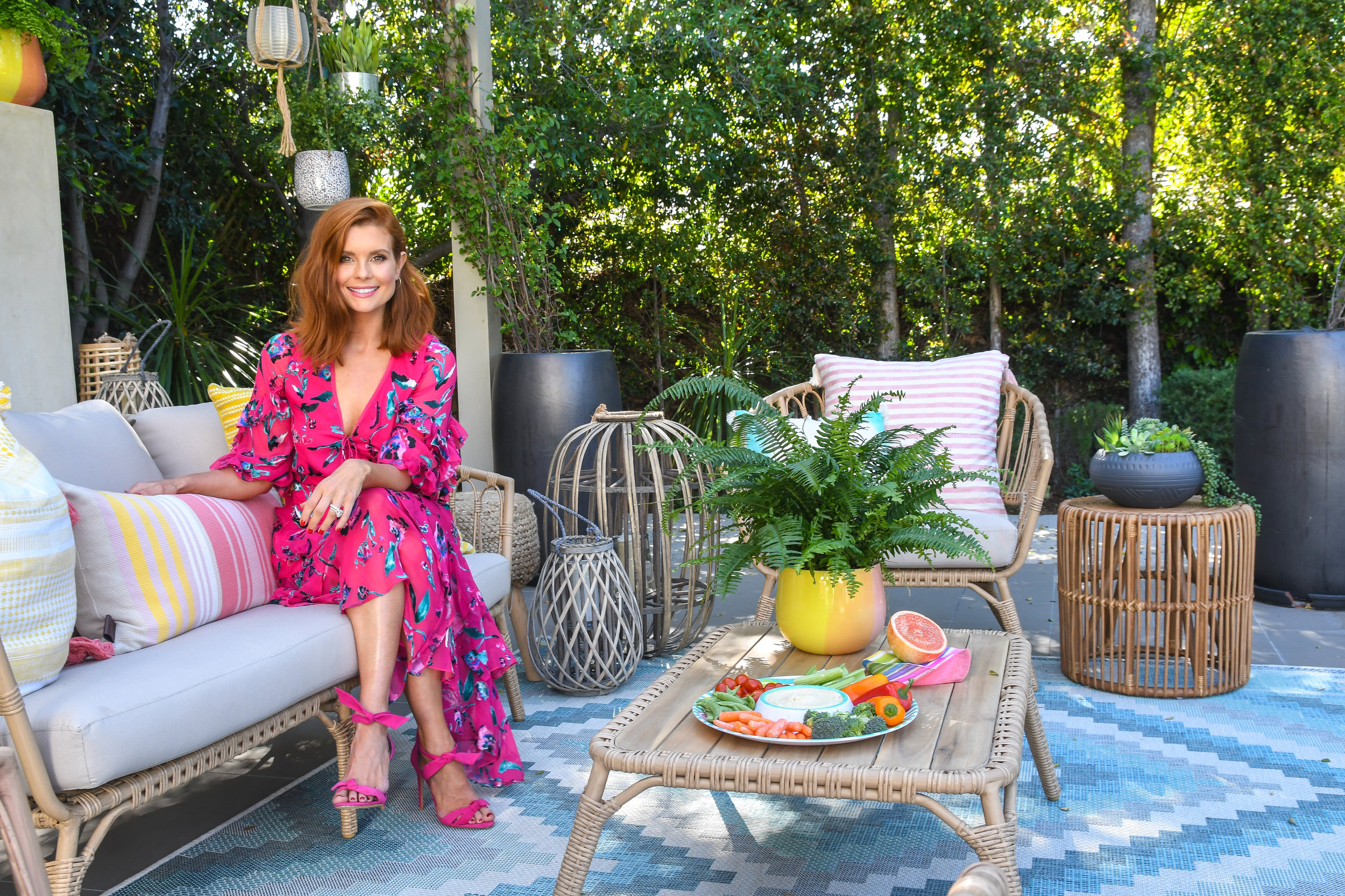 outdoor entertaining with homegoods
