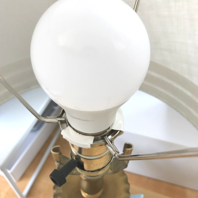 How to Make a Lamp Shade Ring Fit — Mid Modern Mama