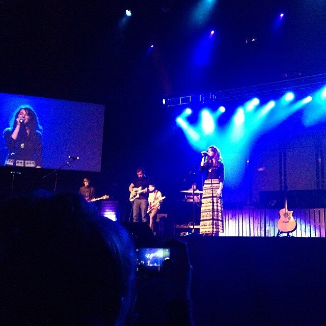 """2013 - Caitlin performing her song """"break the chains"""""""