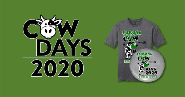 Cow Days 2020 Merchandise Orders Final Reminder ...