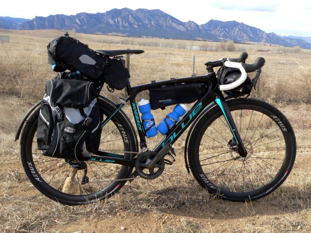 Ready to Roll - Your future Blue Hogback outfitted for your next amazing back packing adventure