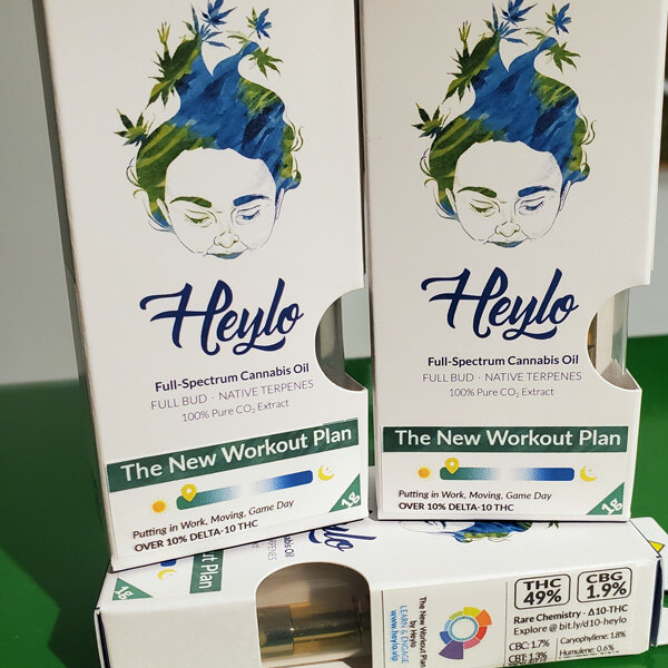 Always an innovator, Heylo leads the industry in tailored vape blends.