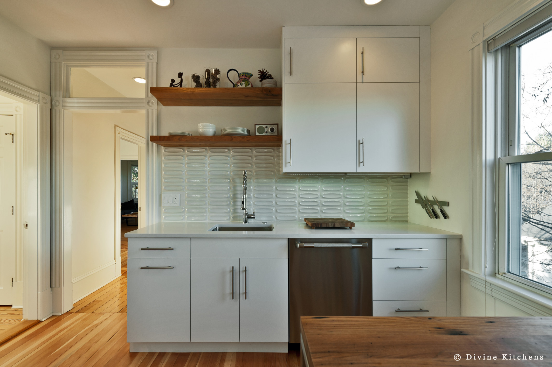 cambridge transitional kitchen