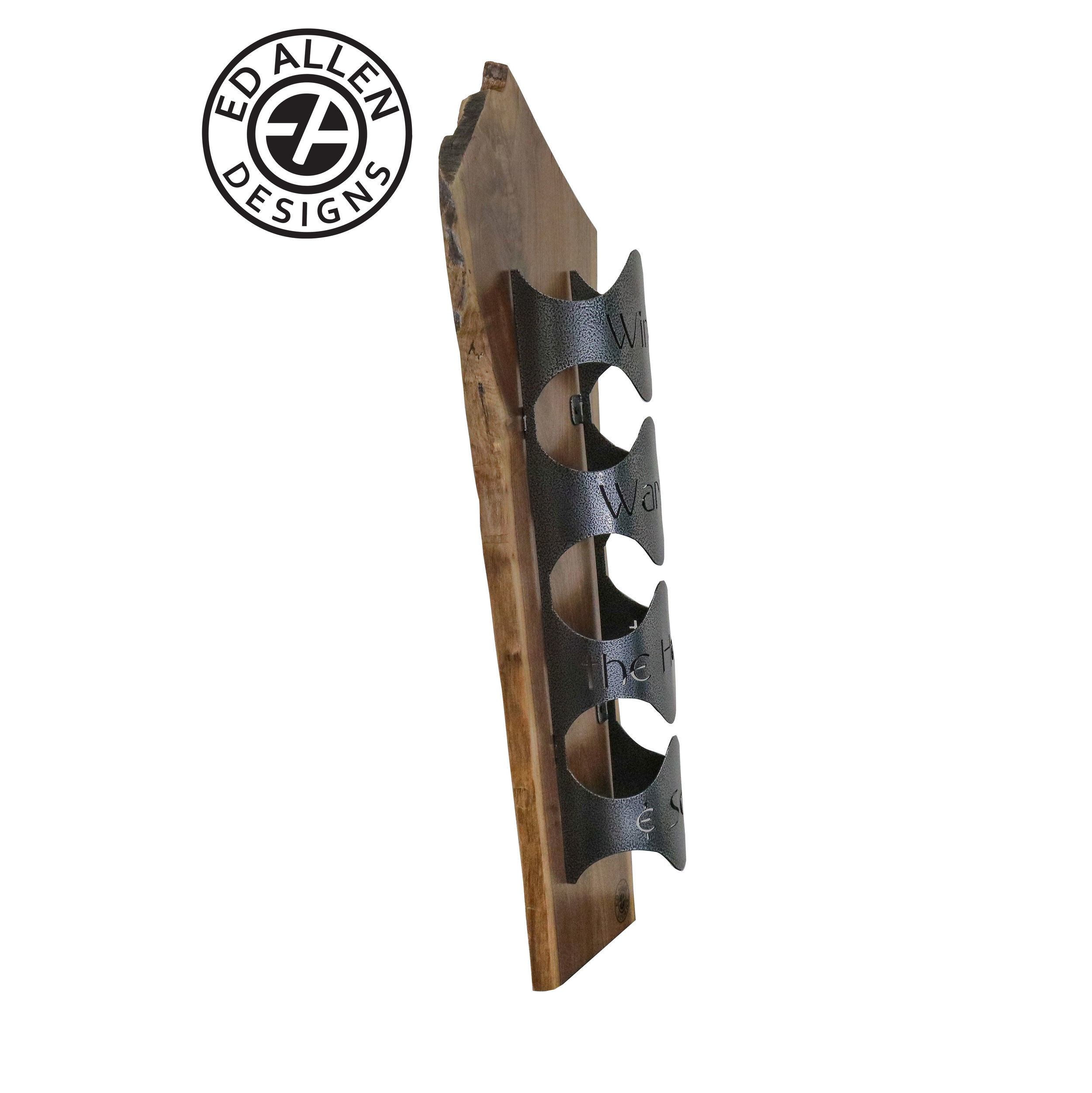 ed allen live edge wine rack ed allen designs live edge hardwood products