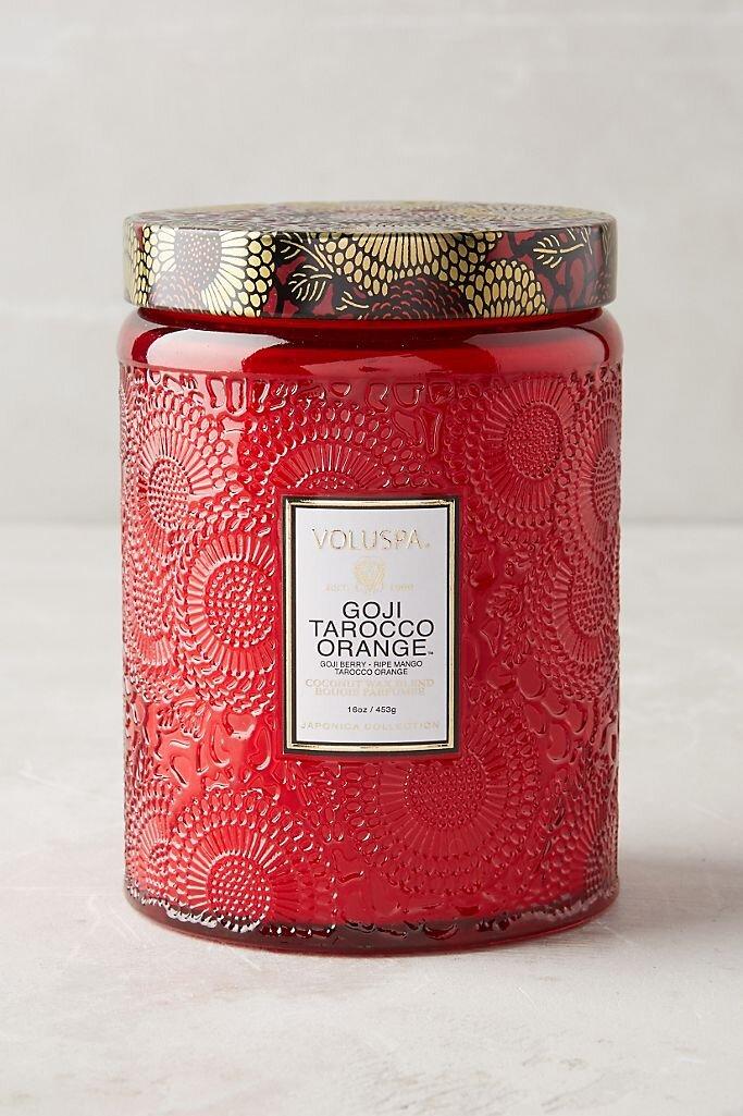 Voluspa Goji Torocco Orange Candle