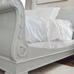 King Sleigh Bed Makeover Using Chalk Paint Jessica Diana Schlichtman
