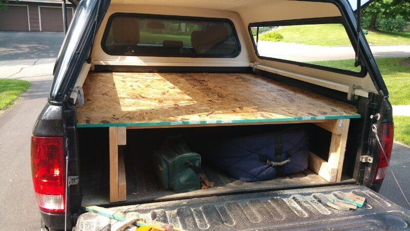 sleeping platforms for truck camping
