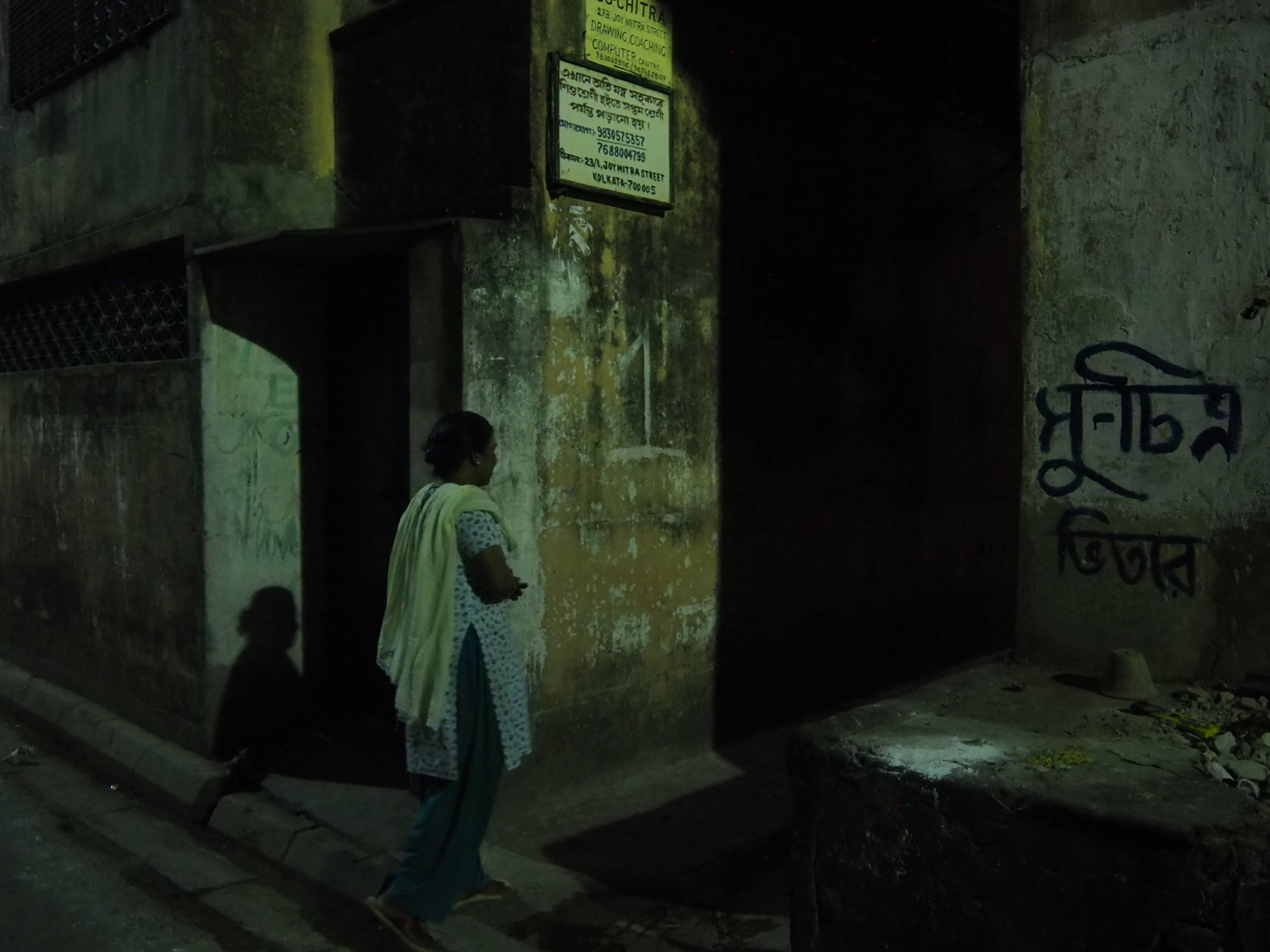 Sumita Biswas (name changed for anonymity) leads us through Sonagachi.