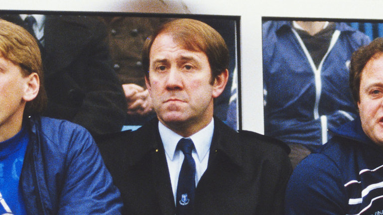Howard Kendall, Everton manager, in 1983