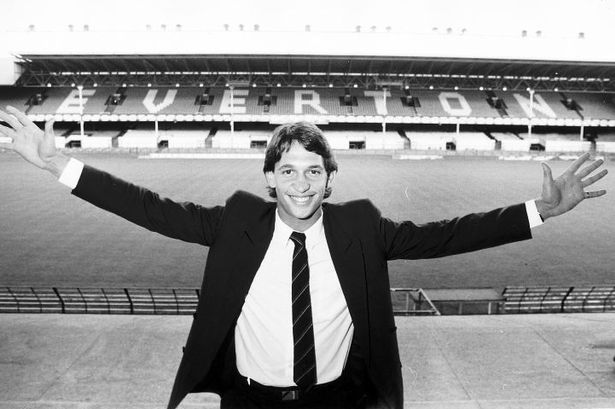 Gary Lineker's arrival at Goodison in the summer of 1985 spelled the end of the Gray/Sharp partnership