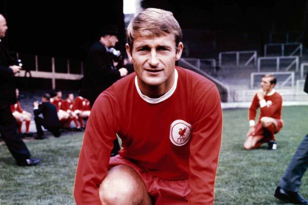 Liverpool goal machine Roger Hunt who was lethal on Boxing Day 1963