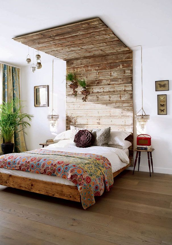 Nature to decorate the bedroom
