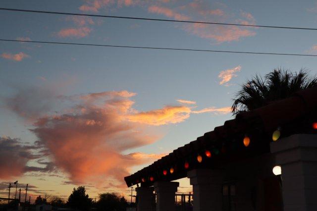 El Pais at sunset 🌅 🏜… gorgeous