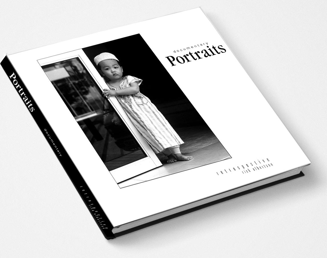 Documentary Portraits Retrospective Coffee Table Book Rickalbertson Documentary Photography
