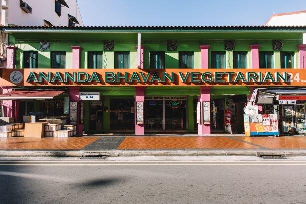 Ananda Bhavan Restaurant — Hello! Singapore Tours