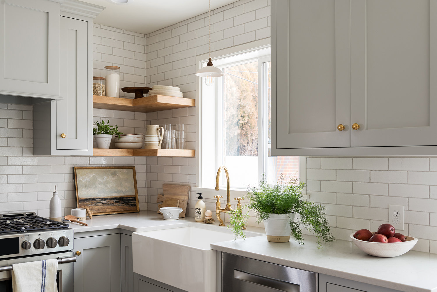 8 great neutral cabinet colors for kitchens the grit and on benjamin moore kitchen cabinet paint id=26201
