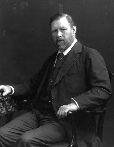 Bram Stoker, autor de Drácula, en 1906.