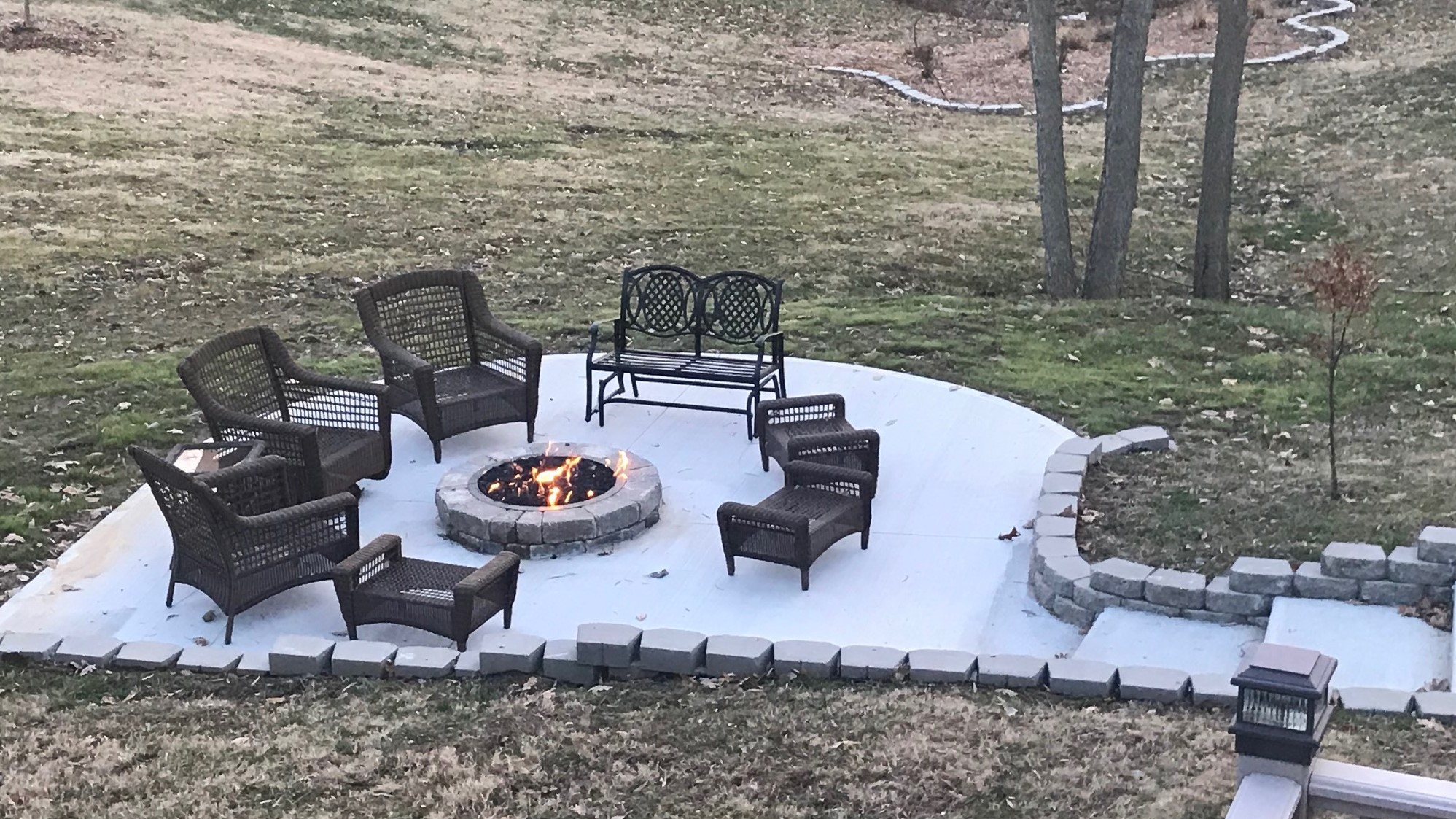 outdoor kitchens patios firepits