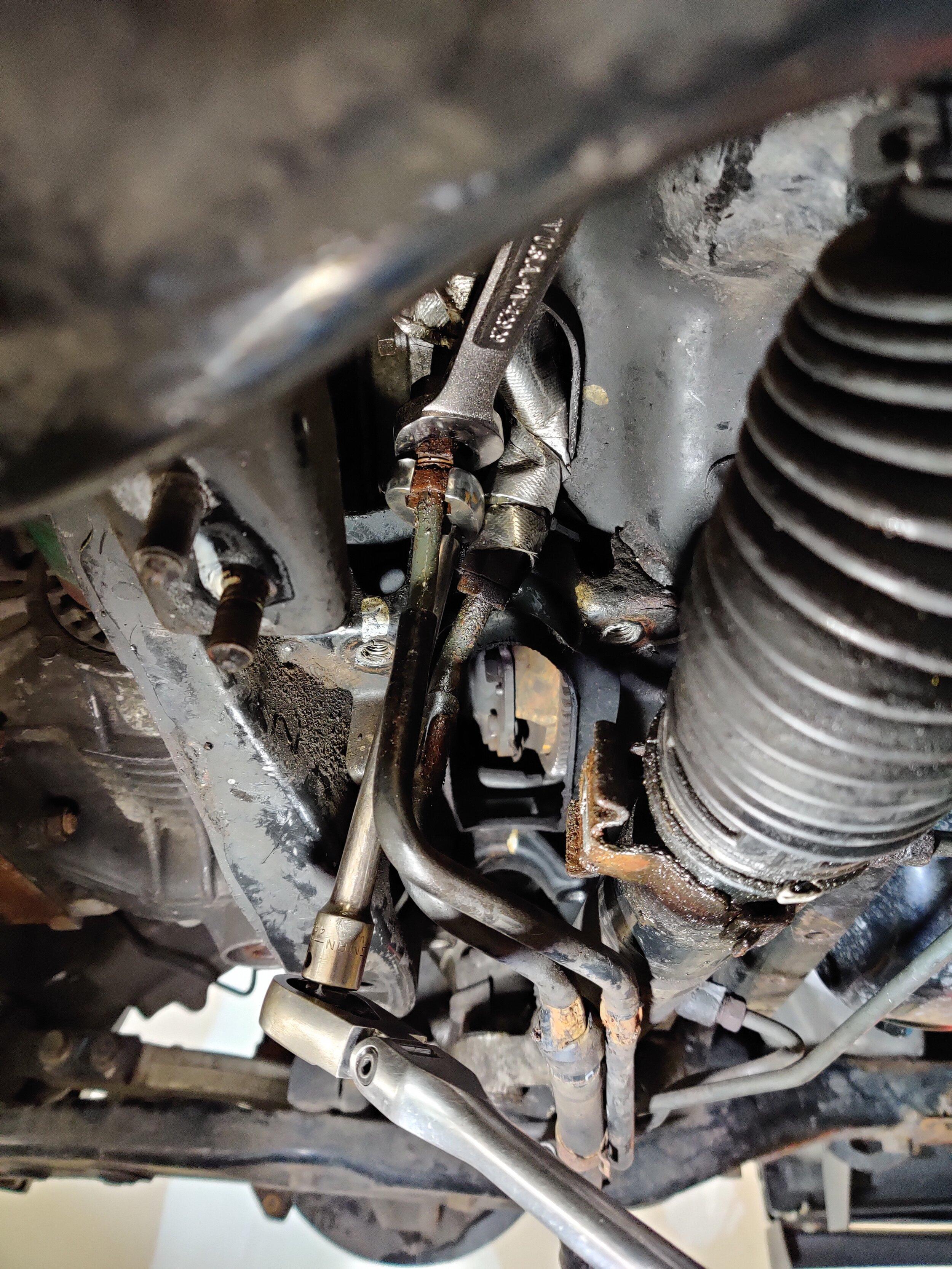 15 sti steering rack install on a 2005
