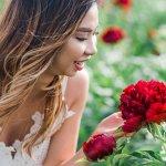 Flower Field Photoshoot At Adelman Peony Gardens Elizabeth Hite Photography