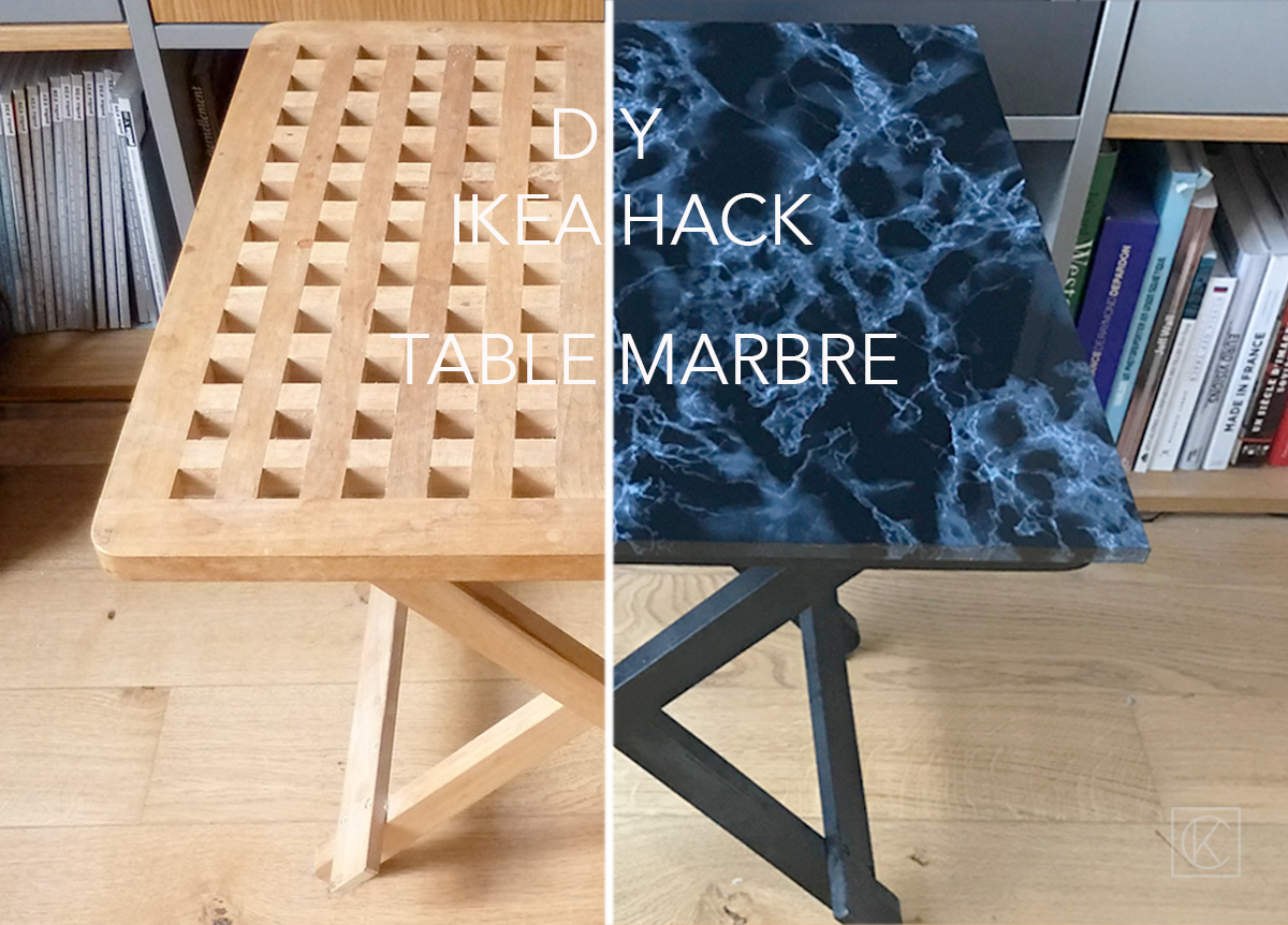 diy ikea hack transformer une table