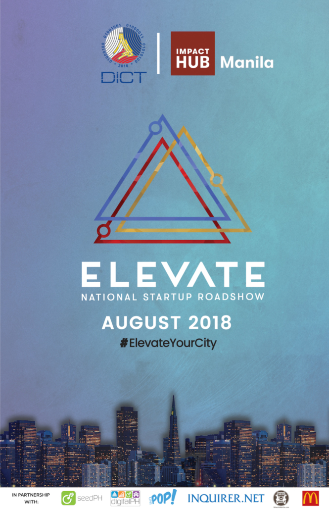 Elevate Roadshow 2018 Main Poster