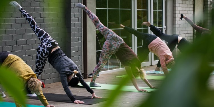 Some coworking spaces offer free yoga sessions!