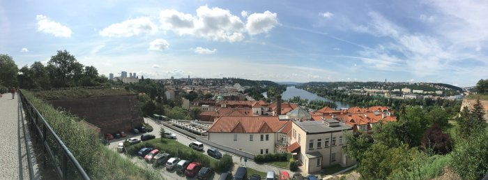 Views of Prague! All this and more is accessible to you by BUS!