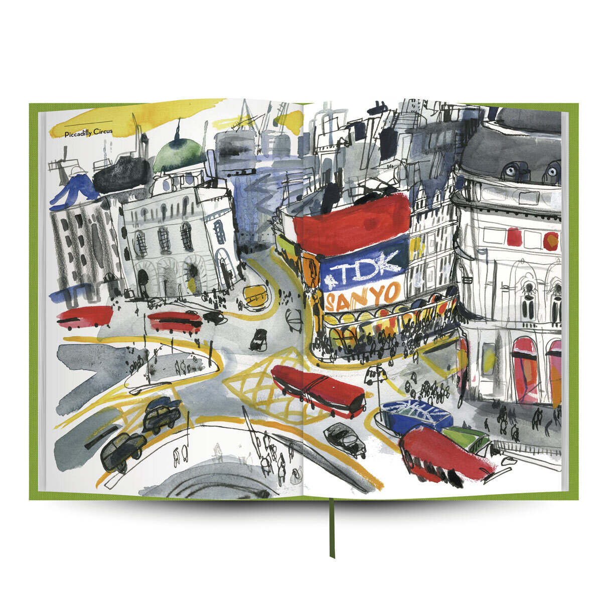 Libro de viajes a Londres de la editorial Tintablanca