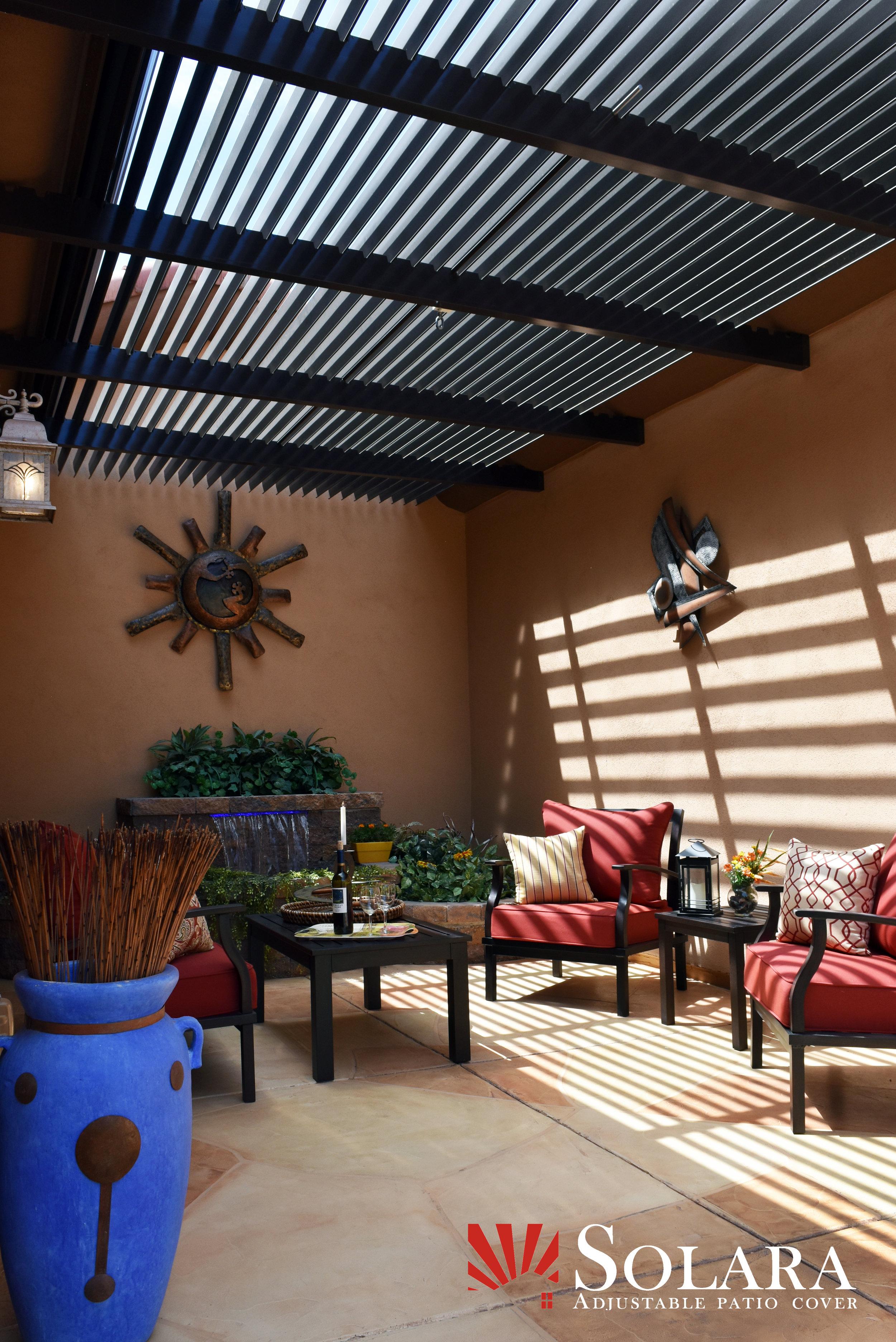 solara adjustable patio cover datura