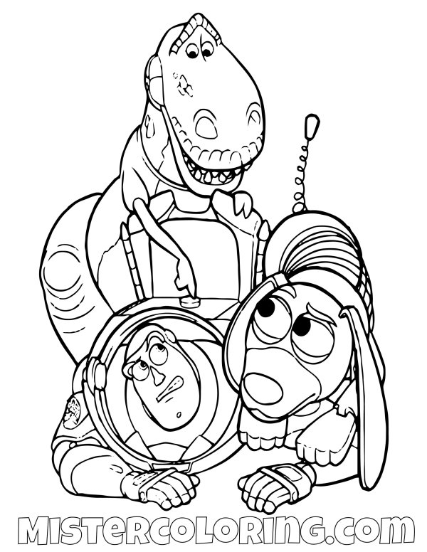 buzz lightyear coloring page # 67